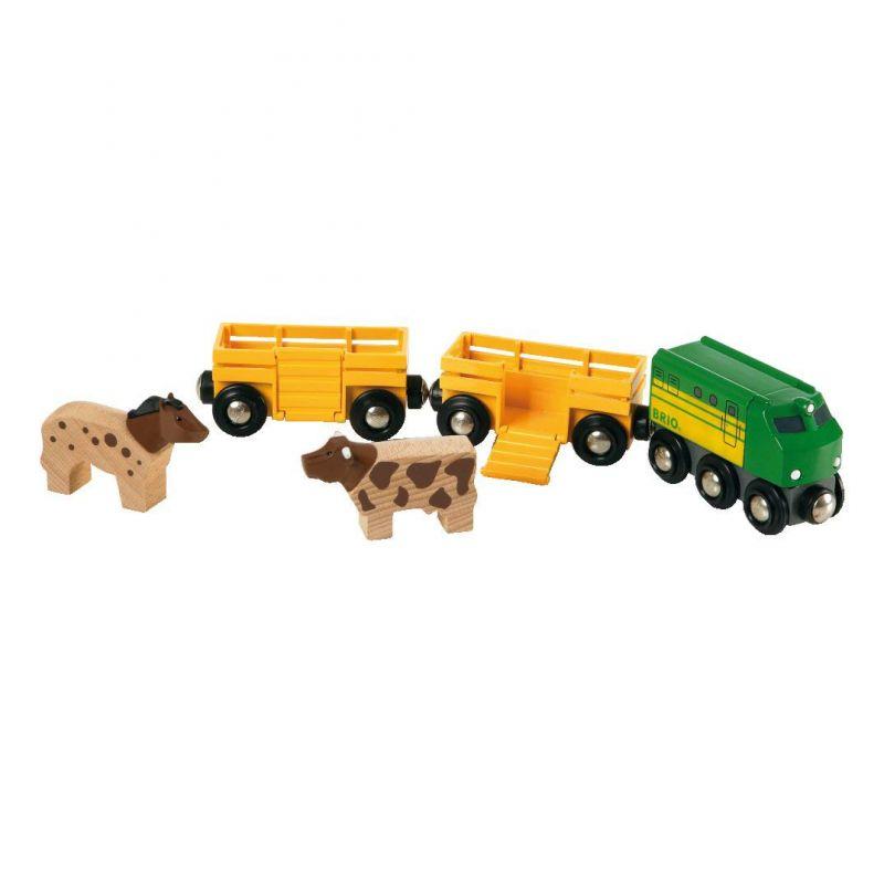 Zemědělský vlak pro přepravu zvířat