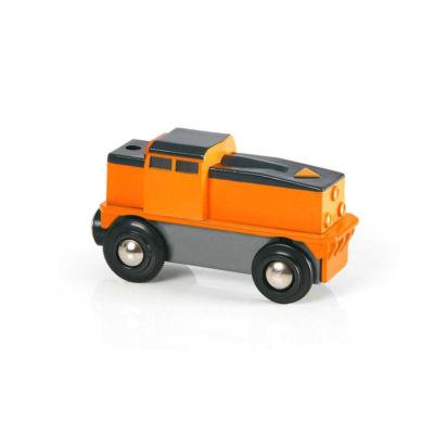 Vláček vláčkodráhy – Elektrická nákladní lokomotiva