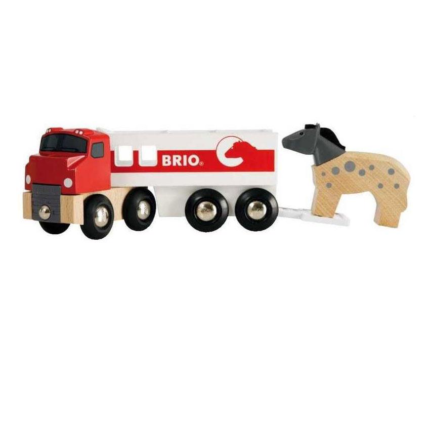 Kamión pro přepravu koní s koníkem