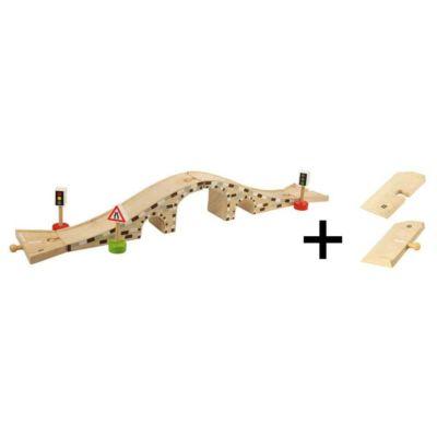 Dřevěný most pro auta