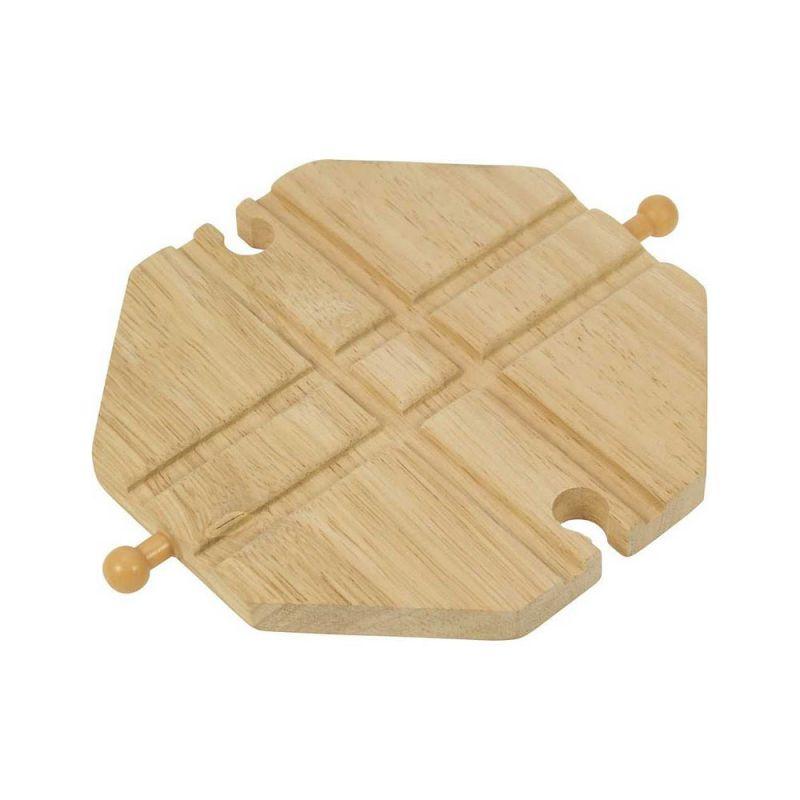 Křižení dřevěné vláčkodráhy