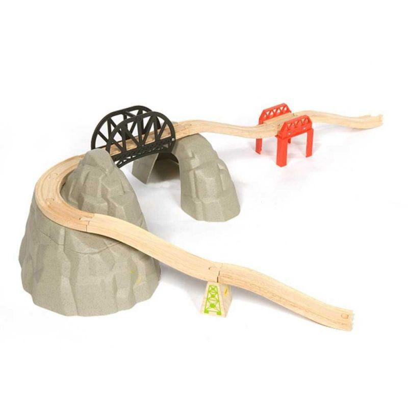 Dřevěná vláčkodráha – Set vysokohorská dráha