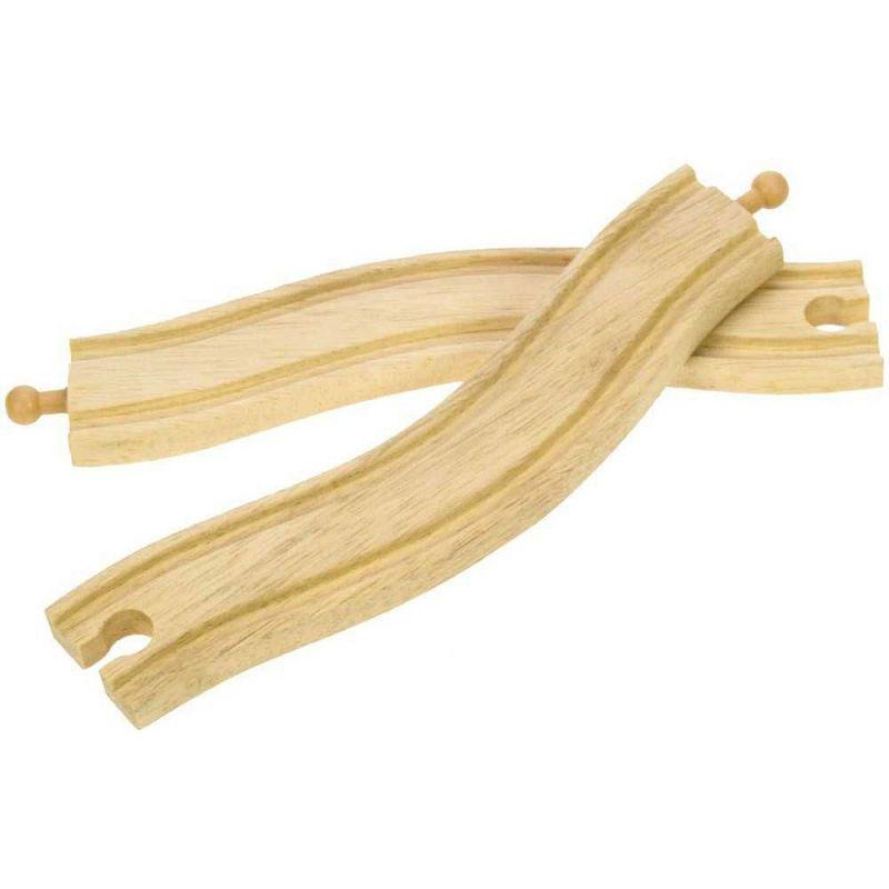 Obloukové dřevěné koleje