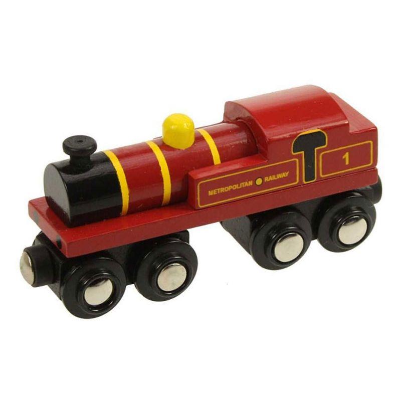 Bigjigs dřevěná replika lokomotivy