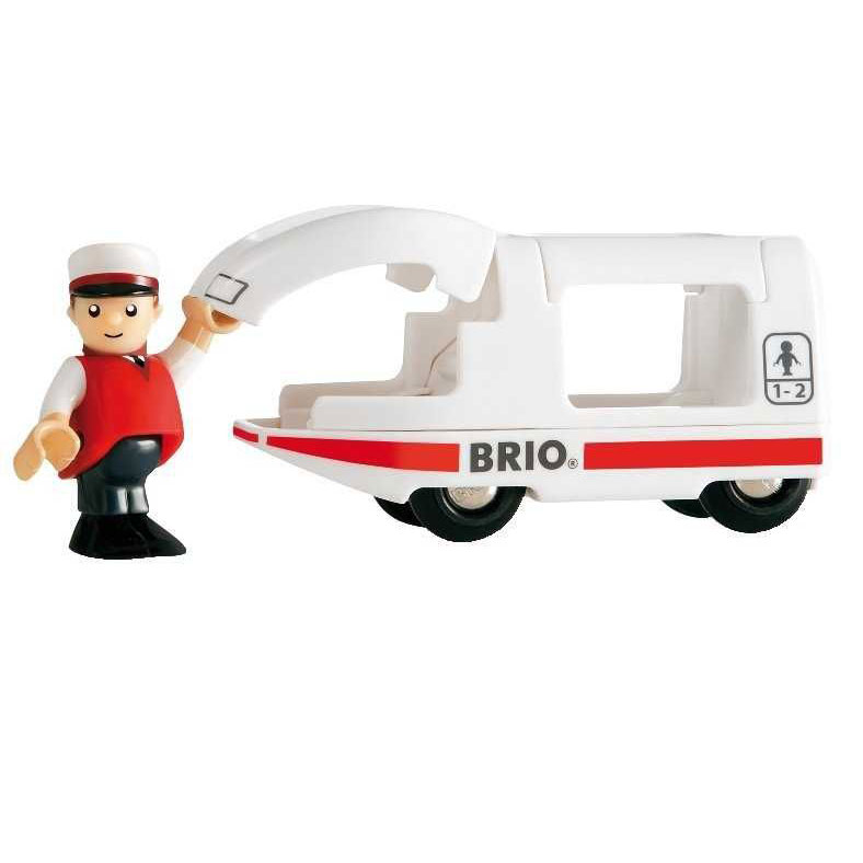 Lokomotiva BRIO se strojvedoucím