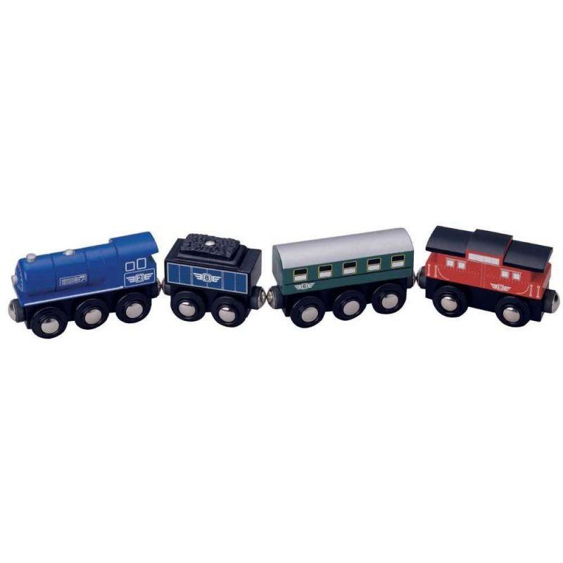 Vlaková souprava dřevěné vláčkodráhy