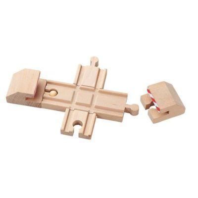 Dřevěné vláčkodráhy Maxim – Křížení + nárazníky