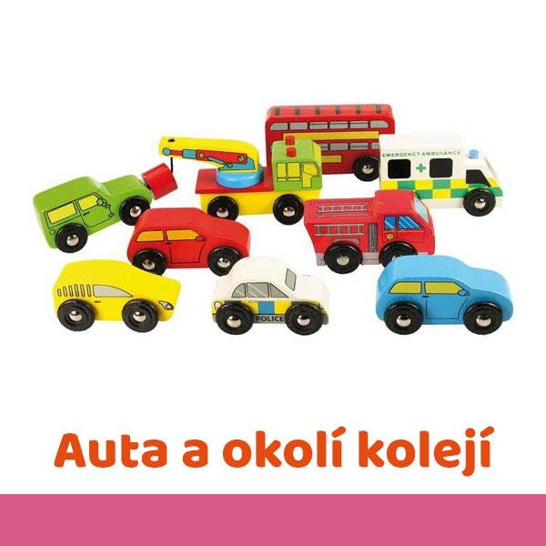 Auta a okolí vláčkodráh