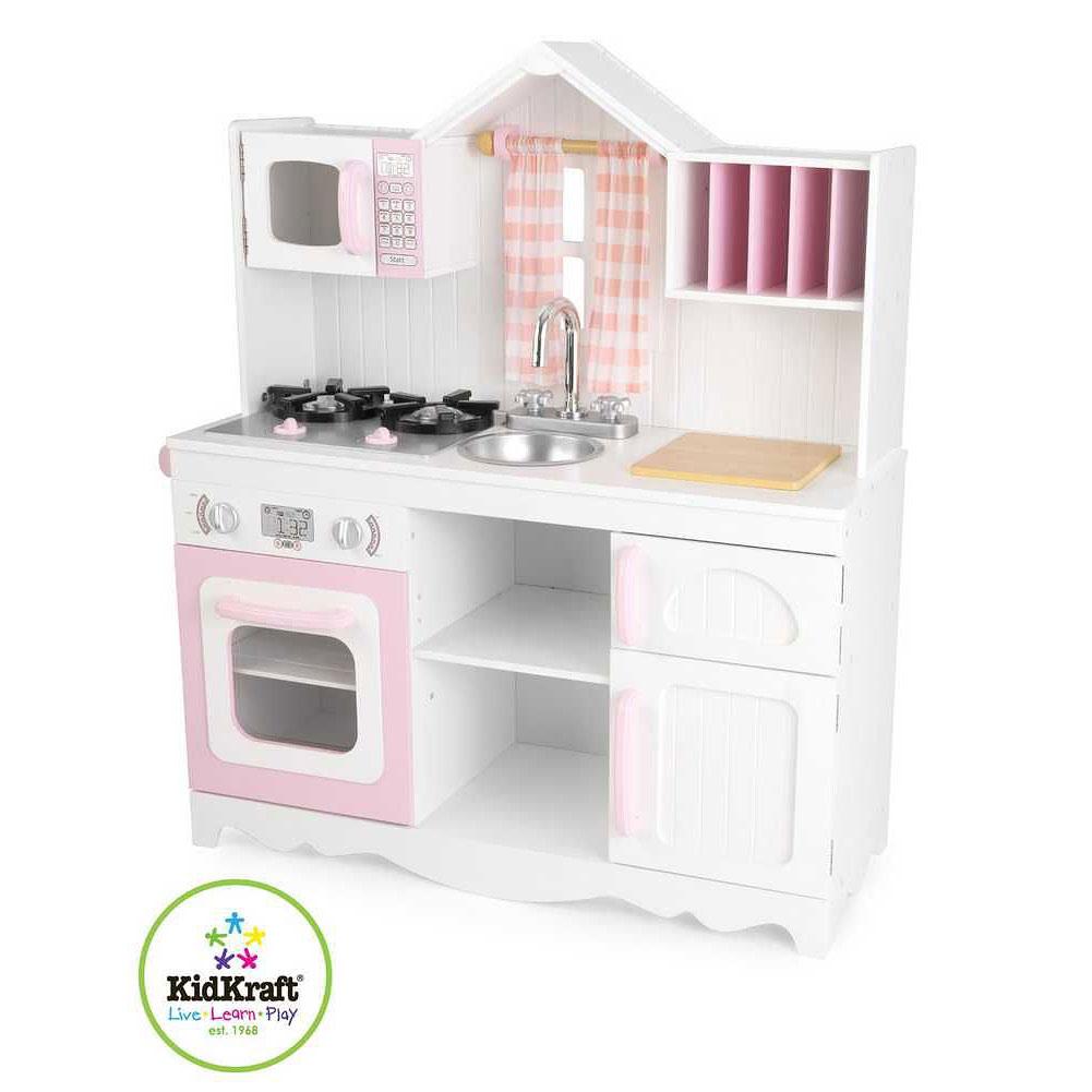 Dětská dřevěná kuchyně