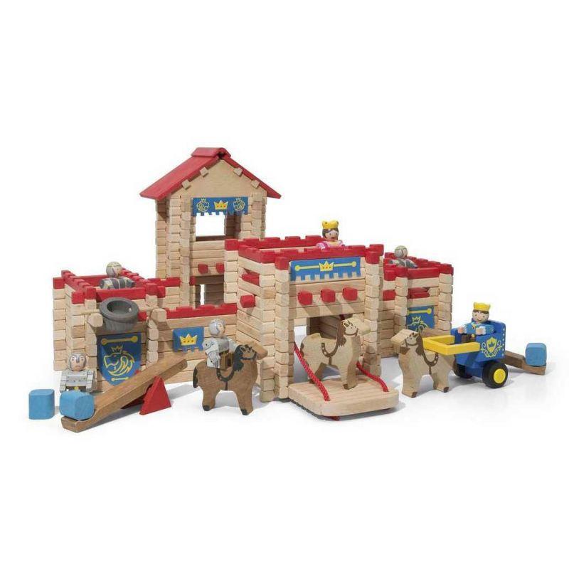 Dřevěný hrad- stavebnice