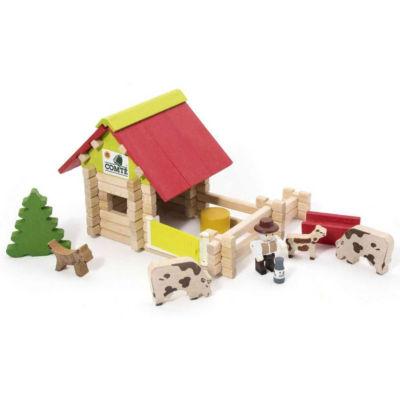 Malá dřevěná farma
