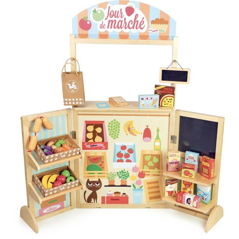 Dětský stánek s potravinami