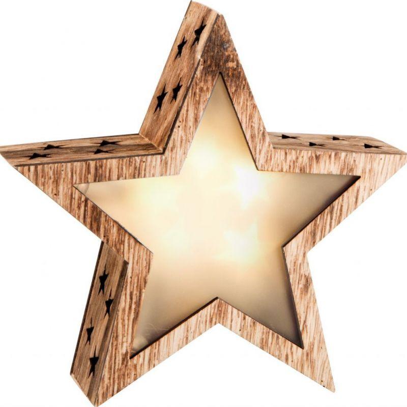 Svítící vánoční hvězda