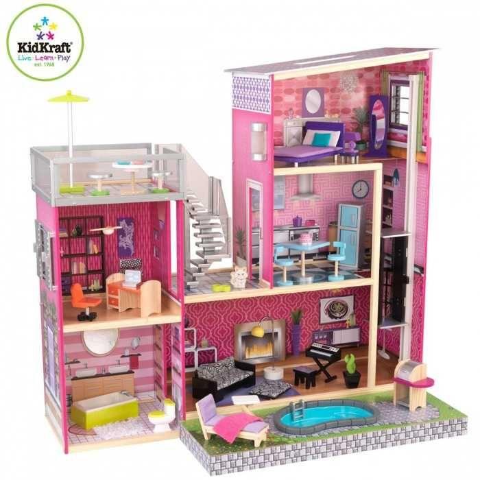 Luxusní domeček pro panenky