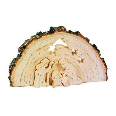 Dřevěné jesličky