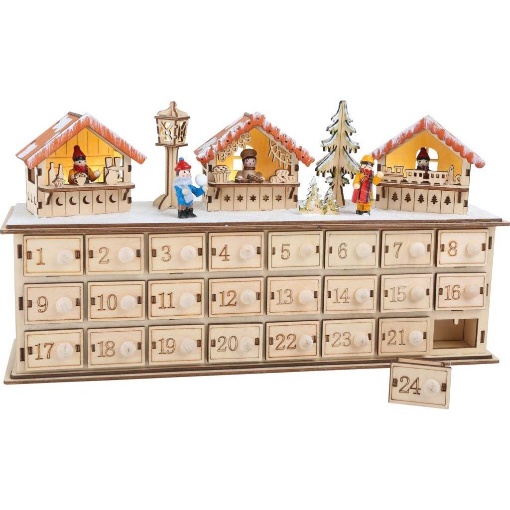 Vánoční dekorace- Vánoční trhy
