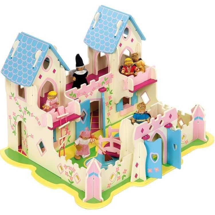 Dřevěný domeček pro princezny