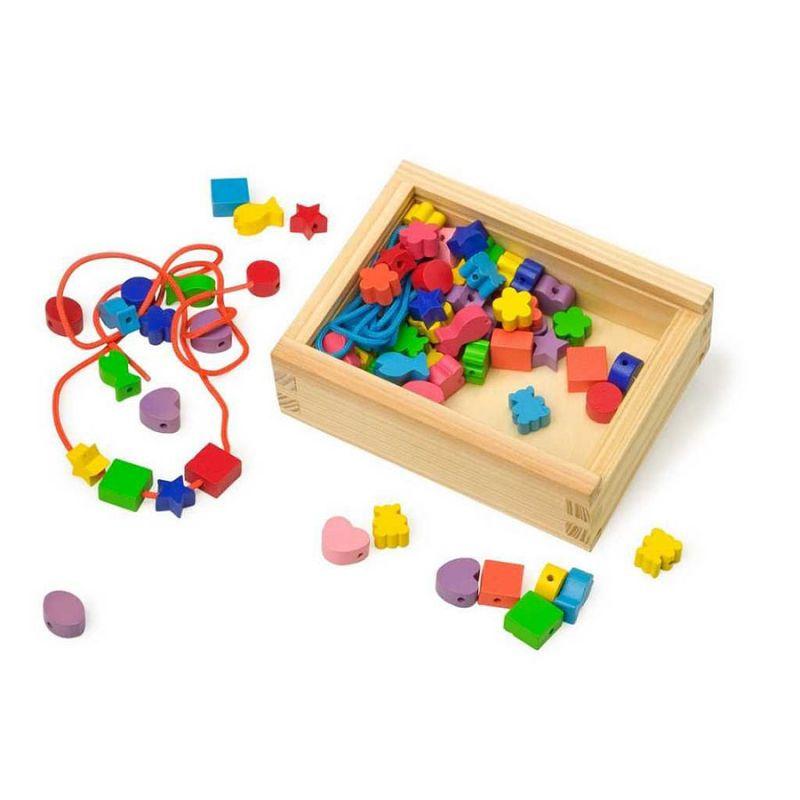 Dětské korálky barevné