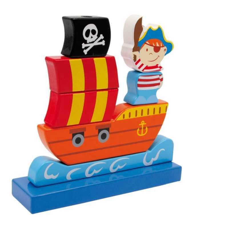 LE3403 Nasouvací pirátská loď