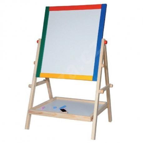 woody-drevo-tabule-natur-65-cm-s-polickou-oboustranna-drevene-hracky