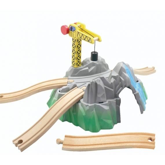 Jeřáb k vláčkodráze