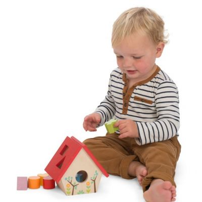 PL085-My-Little-Bird-House-Shape-Sorter-Life-Style