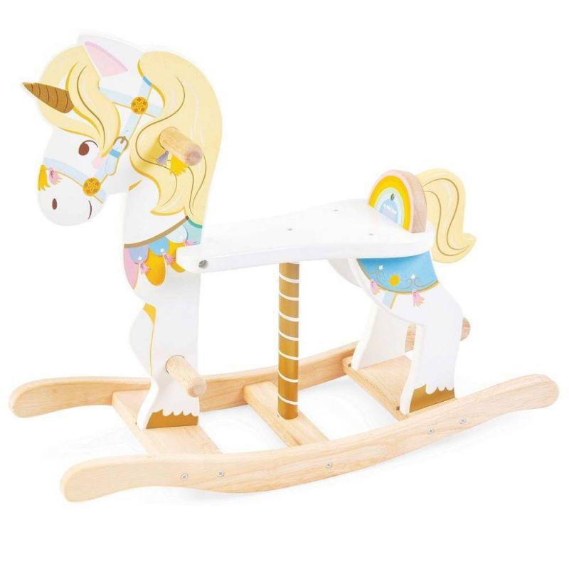 PL134_Unicorn_Carousel_Rocking_1